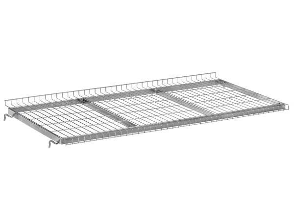 Der Einhängeboden besitzt je nach Ausführung ein Tragkraft von 40 bzw. 80 kg.