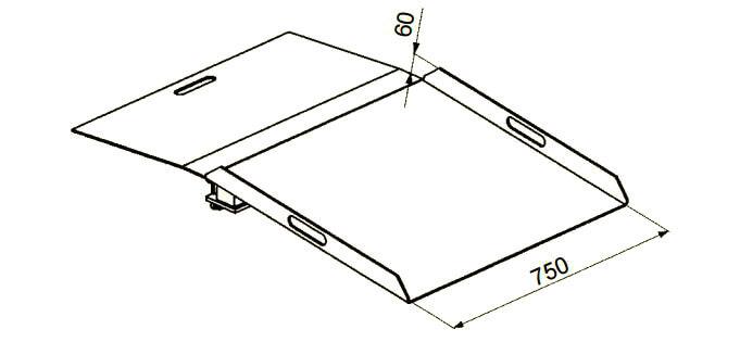 T-rschwellenrampe-Balkonrampe-BTR-Altec-technische-Zeichnung-1