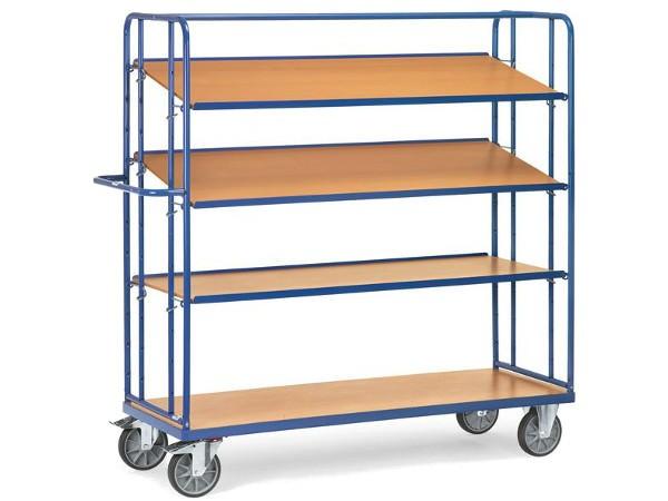 Dieser Etagenwagen ist konzipiert um Gegenstände sicher zu transportieren und aufzubewahren.