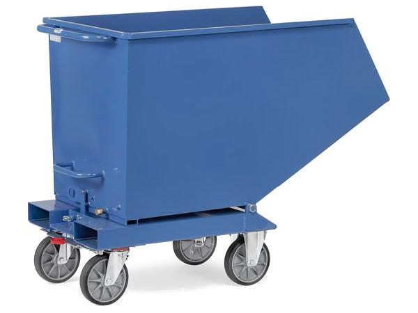Der robuste Muldenkipper eignet sich perfekt um Schüttgut bis 800 kg sicher und leicht zu transportieren.
