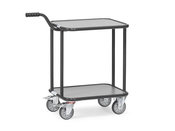 Der Griffroller-Tisch bietet sich an um schwere und unhandliche Lasten sicher von A nach B zu transportieren.