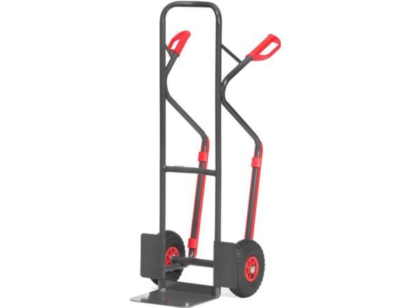Der Karren kann Lasten bis 300 kg problemlos tragen.