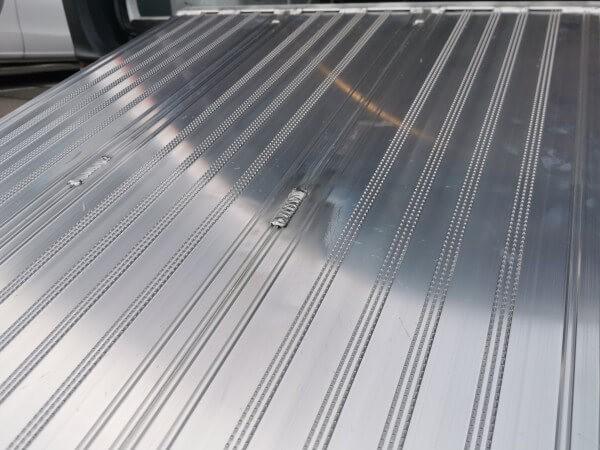 Breitrampe klappbar mit gefräster Oberfläche