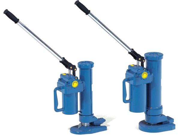 Der praktische Maschinenheber kann schwere Maschinen bis 10.000 kg tragen.