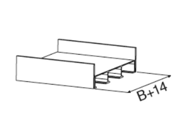 Der 40 mm hohe Sicherheitsrand verhindert ein seitliches Abrutschen beim Be- und Entladevorgang.