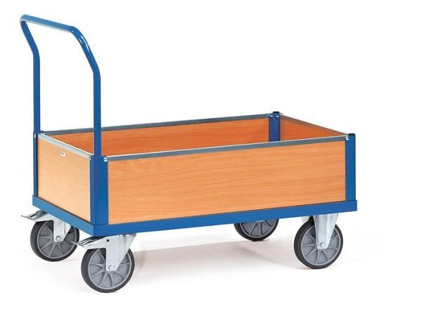 Der Kastenwagen aus dem Hause Fetra ist optimal geeignet wenn Lasten geschützt transportiert werden sollen.