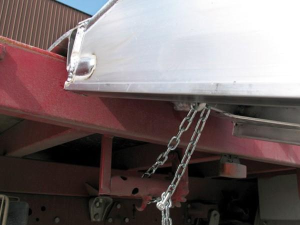 Karabinerhaken mit Stahlkette Metalmec
