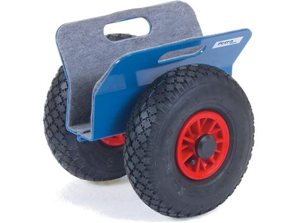 Der robuste Plattenroller besitzt eine Klemmbreite von 0 bis 60 mm.