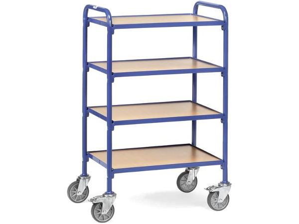 Der praktische Beistelltisch ist optimal um viele kleine Gegenstände sicher zu transportieren.