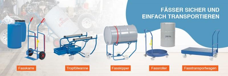 Fässer sicher und einfach transportieren.