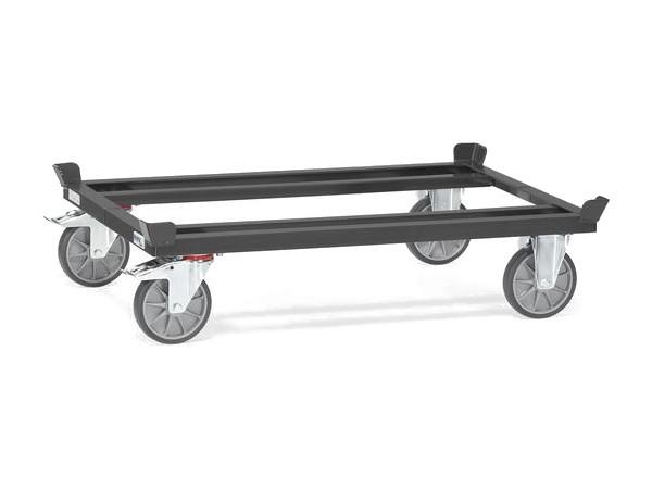 """Der Palettenwagen der Serie """"Grey Edition"""" kann bis zu 750 kg an last tragen."""