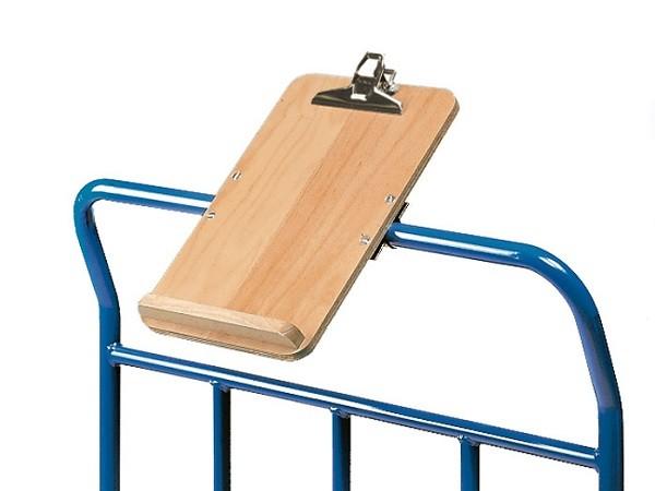 Die Schreibtafel ist für alle gängigen Fetra-Transportwagen nutzbar.