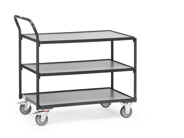 Auf insgesamt 3 Etagen können schwere Werkzeuge oder andere Gegenstände transportiert werden.