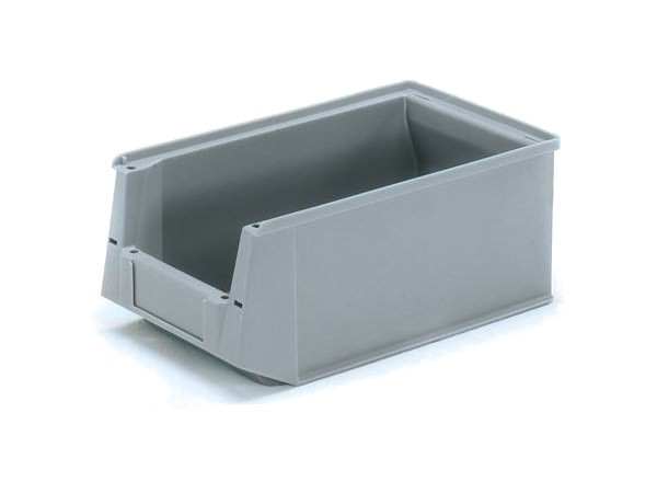 Der kompakte Lagerkasten bestehtn aus schlagfestem Kunststoff.