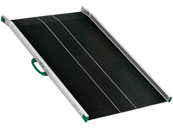 Die TSD Auffahrrampe ist optimal zum Be- und Entladen von mittelschweren Lasten.