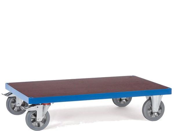 Der Basiswagen besitzt eine rutschsichere Oberfläche und kann Lasten bis zu 1200 kg tragen